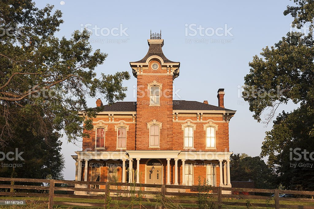 Old Mansion in Chatham royalty-free stock photo