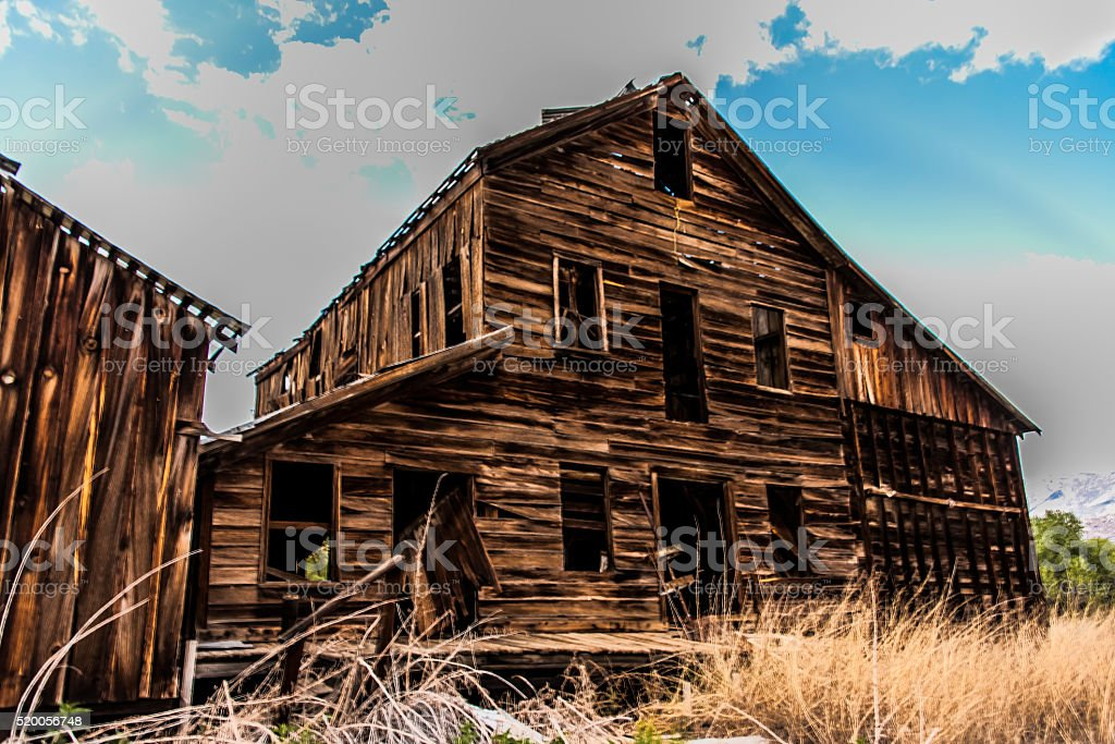 Old Manufacturing Plant stock photo
