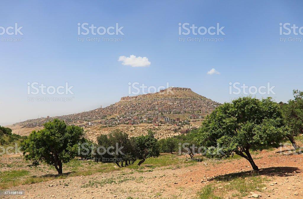 Old Mardin City stock photo