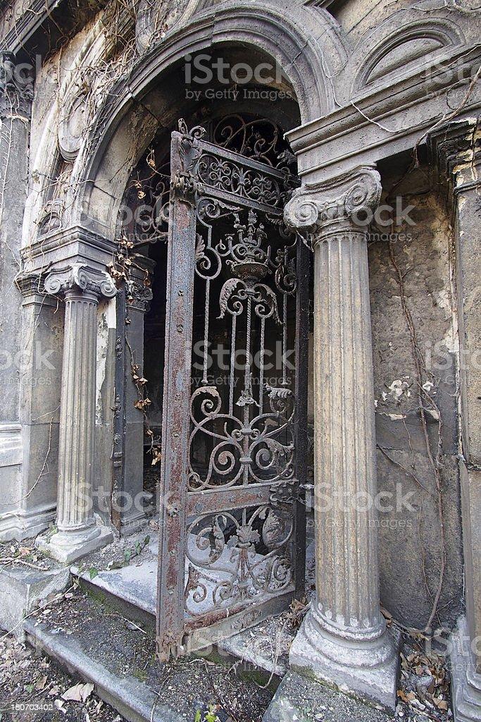 Old Mausoleum royalty-free stock photo