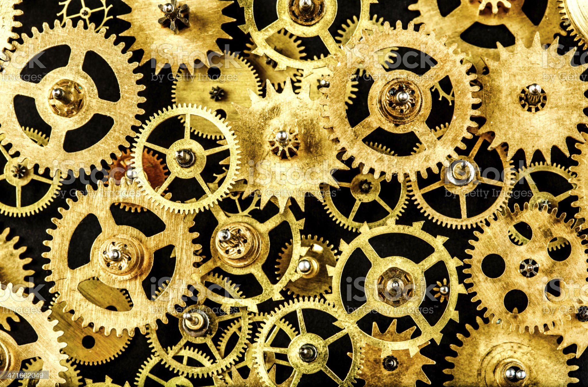 old mechanism background royalty-free stock photo