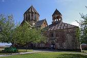 Old medieval armenian church of  Gandzasar monastery