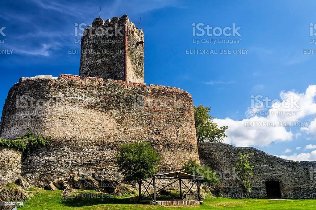 Old medieval castle, Bolkow, Poland stock photo
