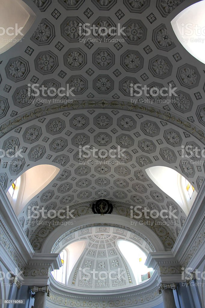 Old Medieval Church, South Italy royalty-free stock photo