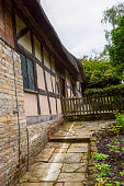 Old Medieval Cottage Home and Garden