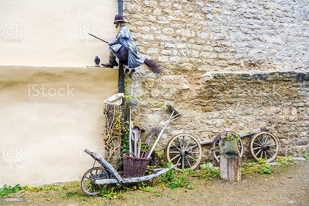 old medieval witches and issues around superstition royalty-free stock photo
