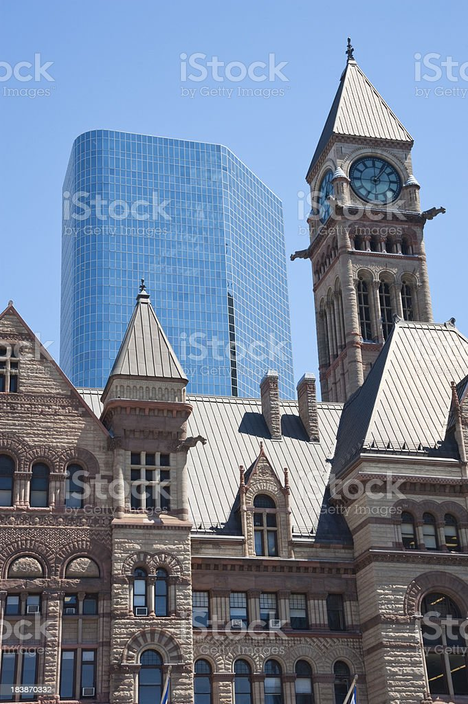 Old Meets New stock photo