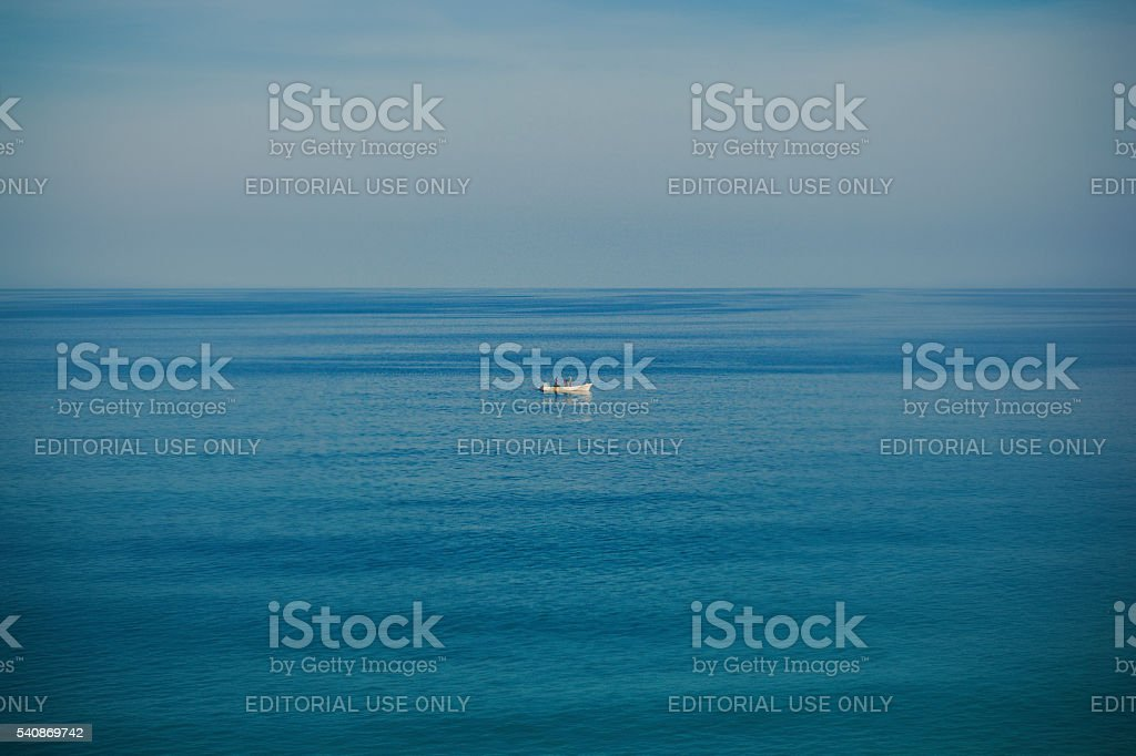 old men and the ocean stock photo