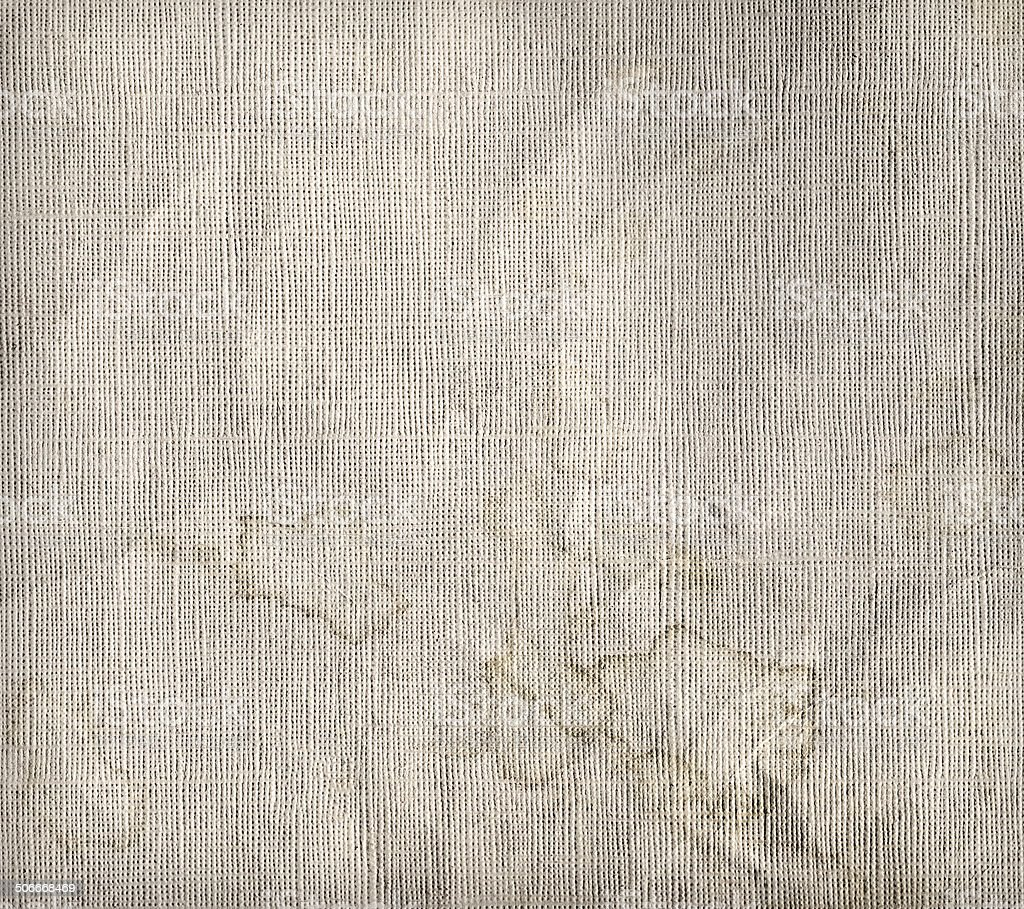 Old messy wrinkled paper texture stock photo