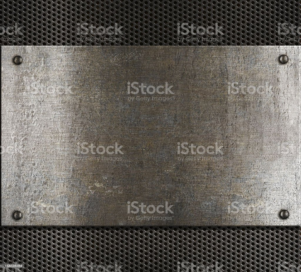 old metal background royalty-free stock photo