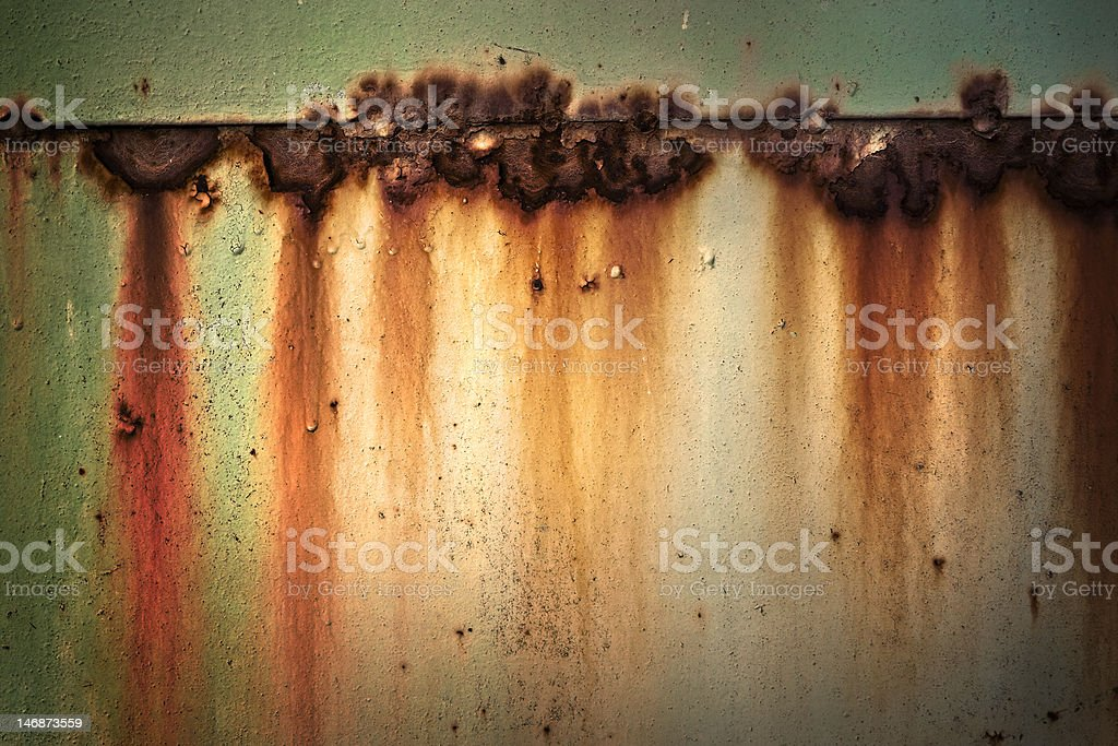 Old metal Background with rust royalty-free stock photo