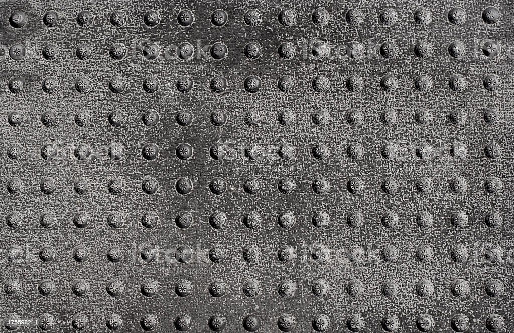 old metal grate background royalty-free stock photo