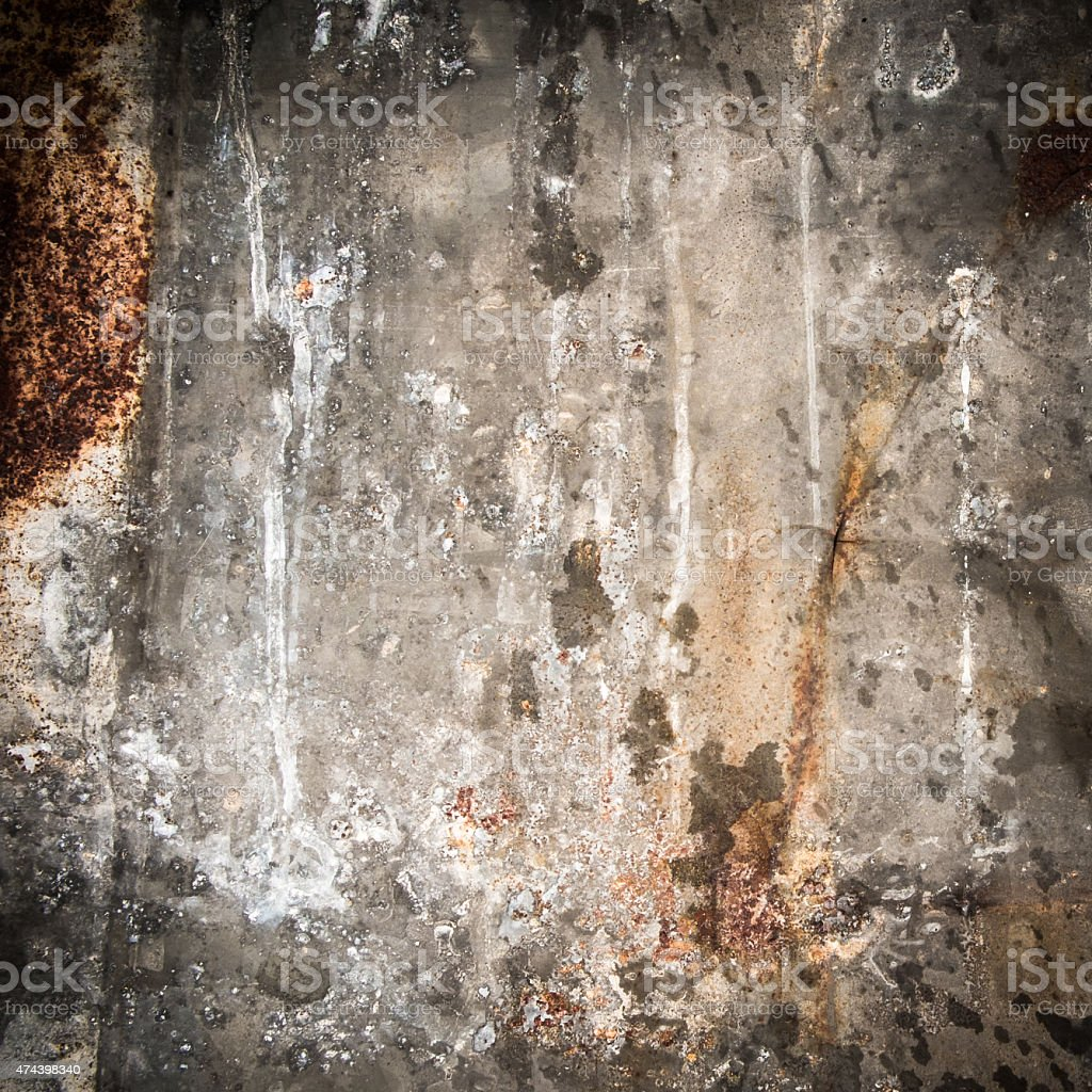 old metal iron rust background and texture vector art illustration