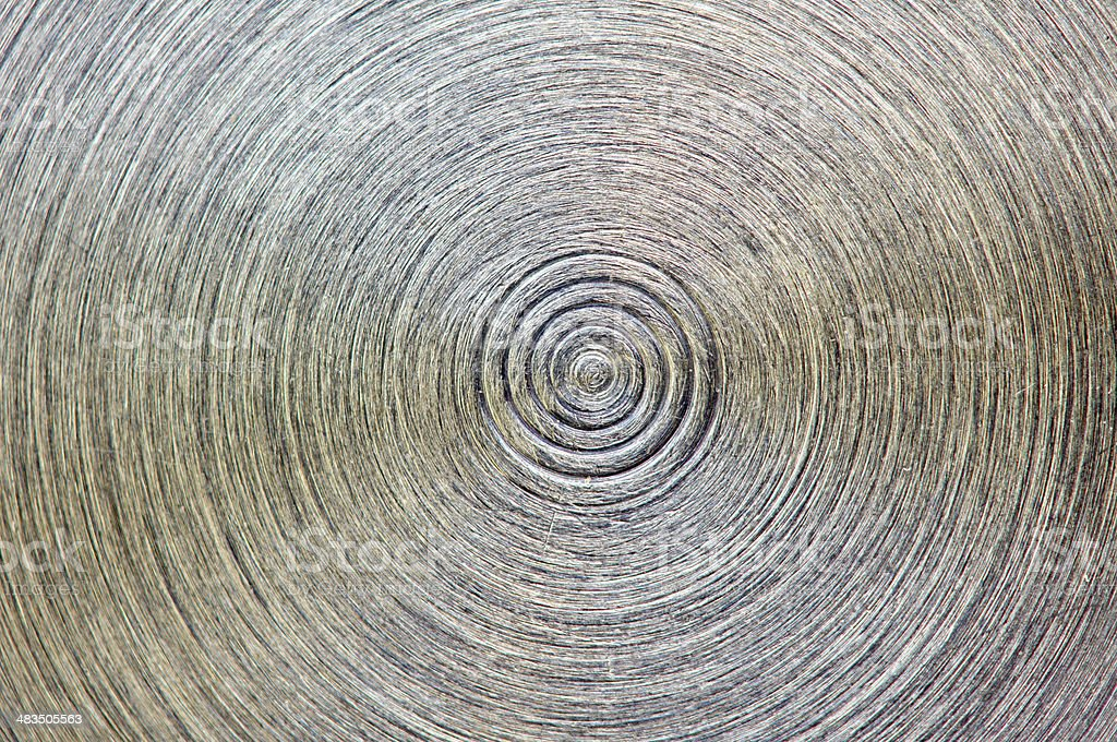 Old metal plate. Dirty background. Macro stock photo
