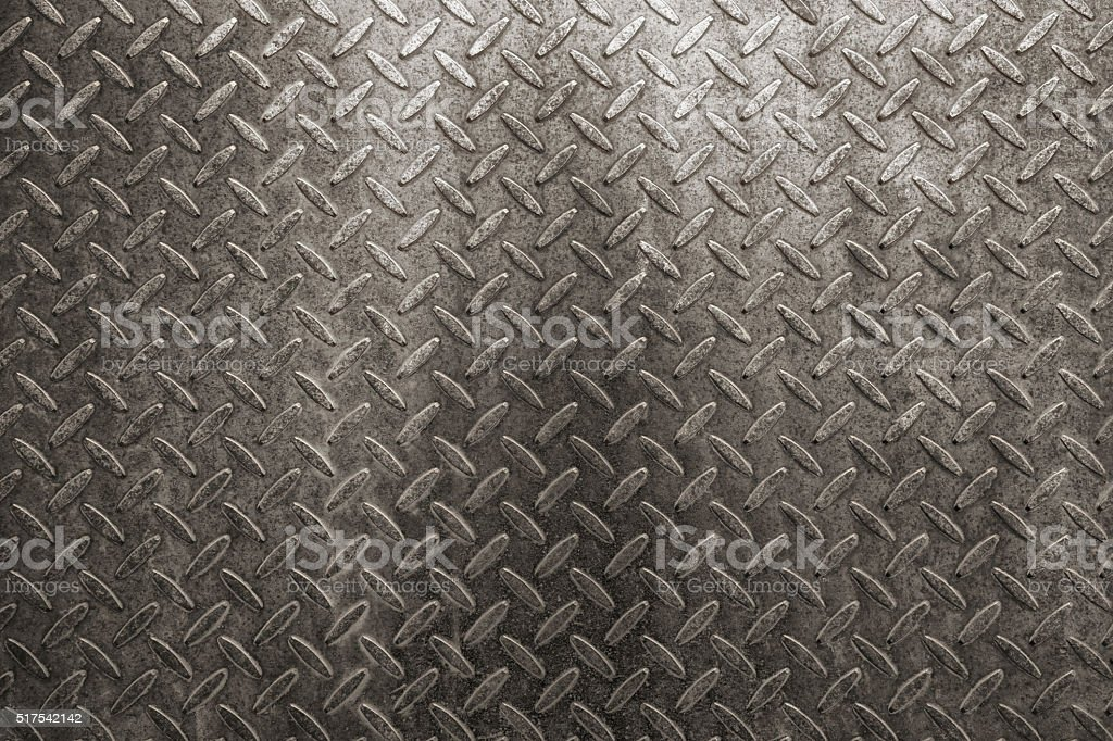 Old metal plate texture background stock photo