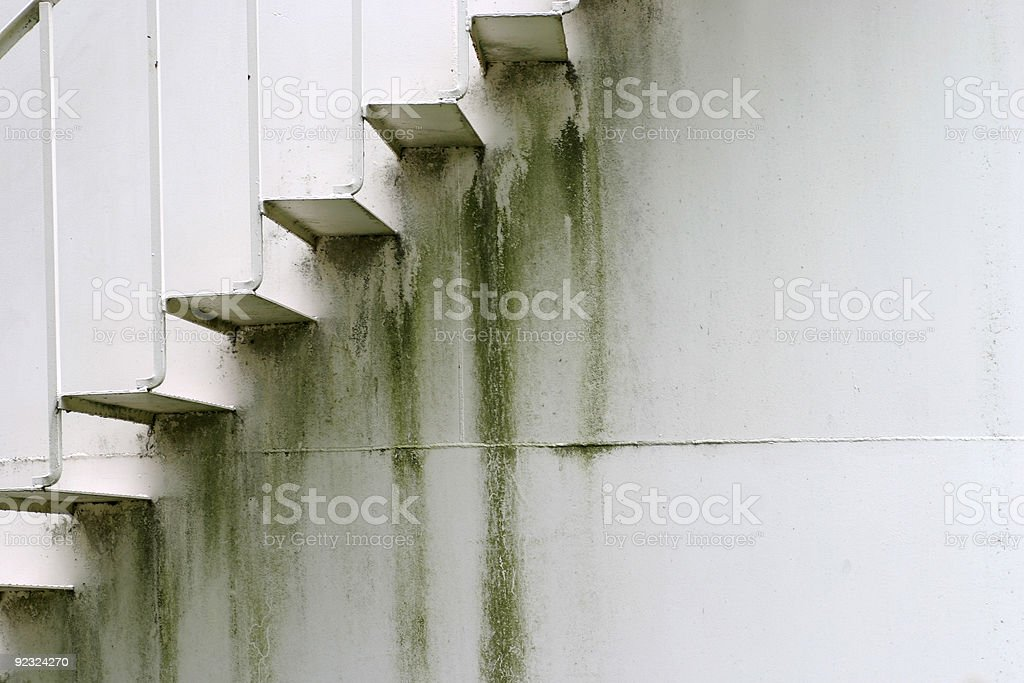 Old Metal Stairs 2 royalty-free stock photo