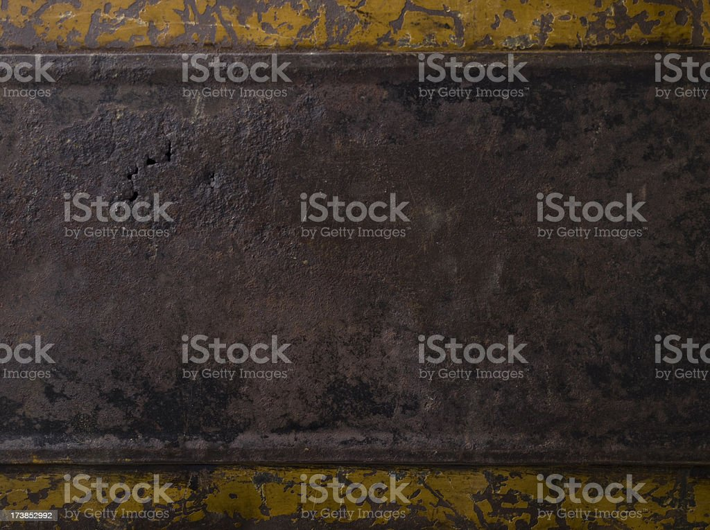Old Metal Trunk - XXXL royalty-free stock photo