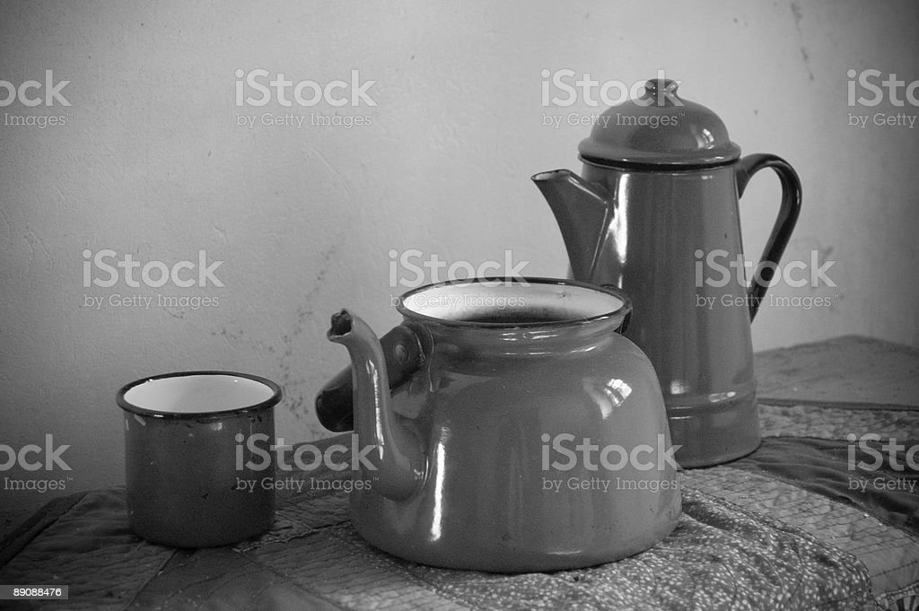 Old Metal Vessels royalty-free stock photo