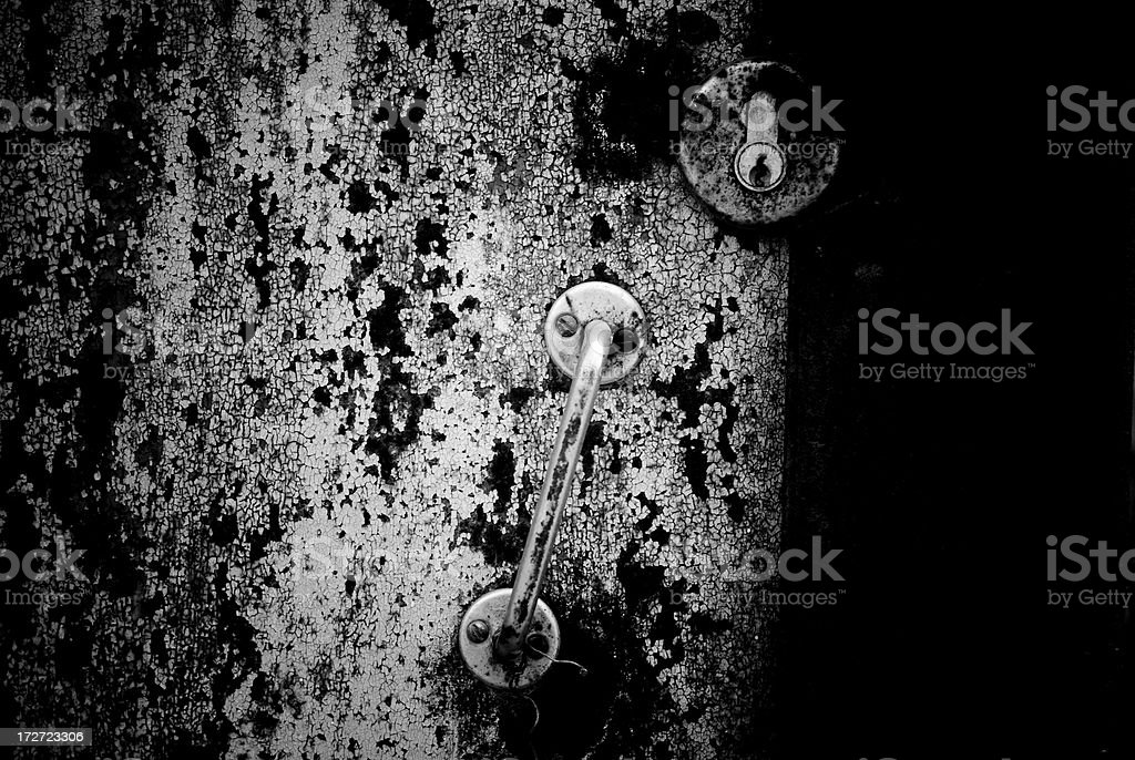 old metall door royalty-free stock photo