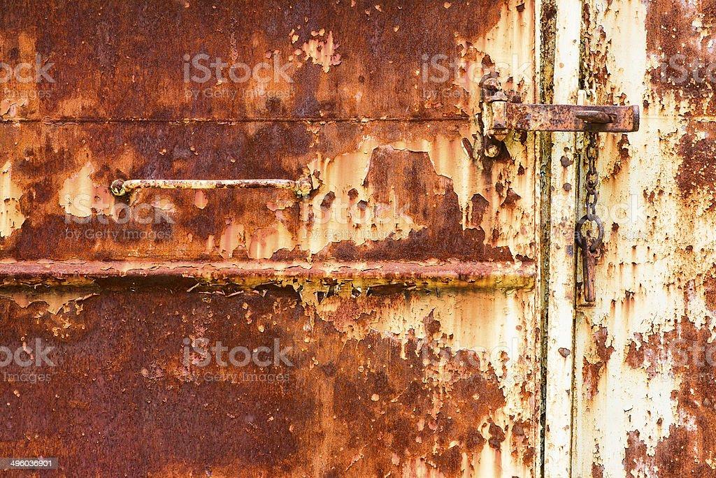 old metallic background. rust. stock photo