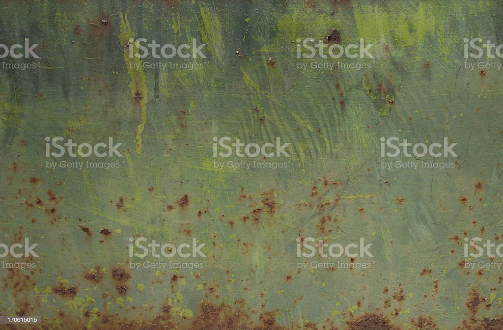 Old Metallic Texture royalty-free stock photo
