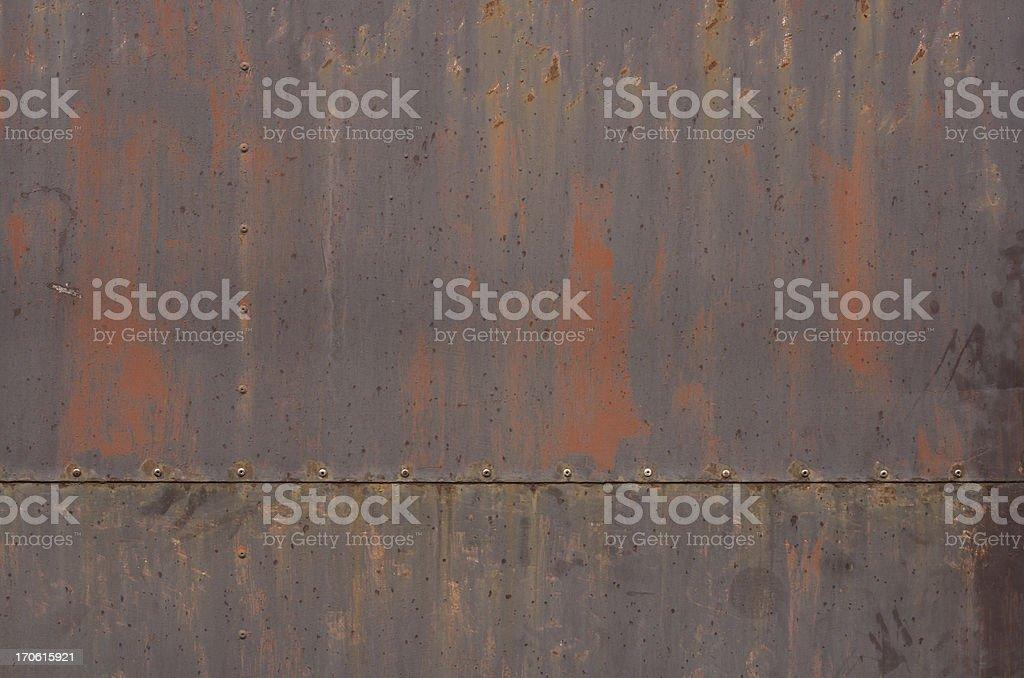 Old Metallic Texture royalty-free stock photo