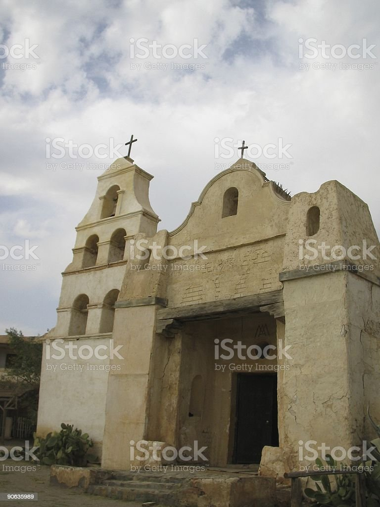 Old  Mexican Church...:::Far West Series'::.. stock photo