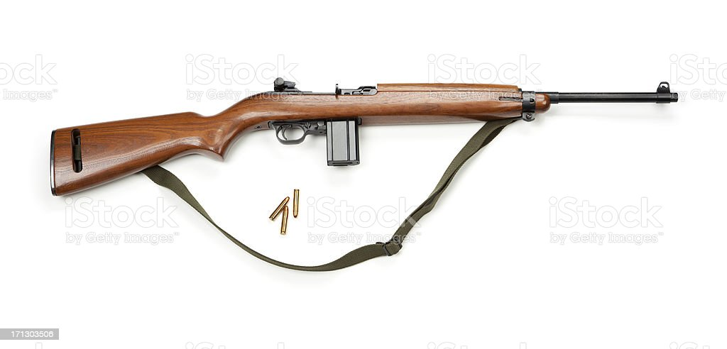 Old Military Rifle royalty-free stock photo