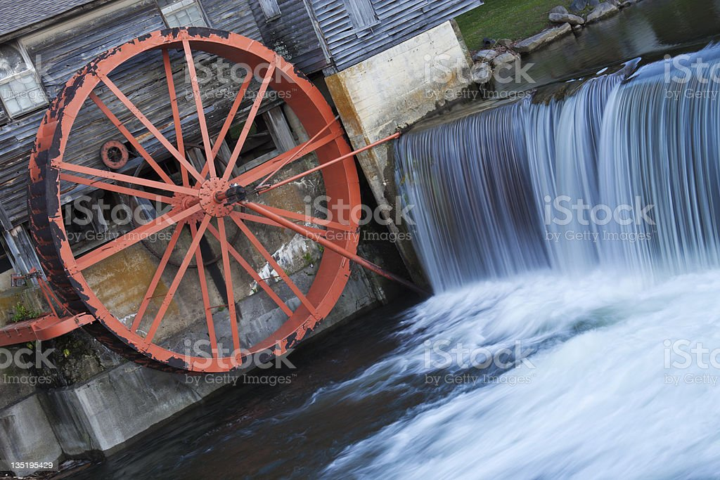Old Mill in Pigeon Forge royalty-free stock photo