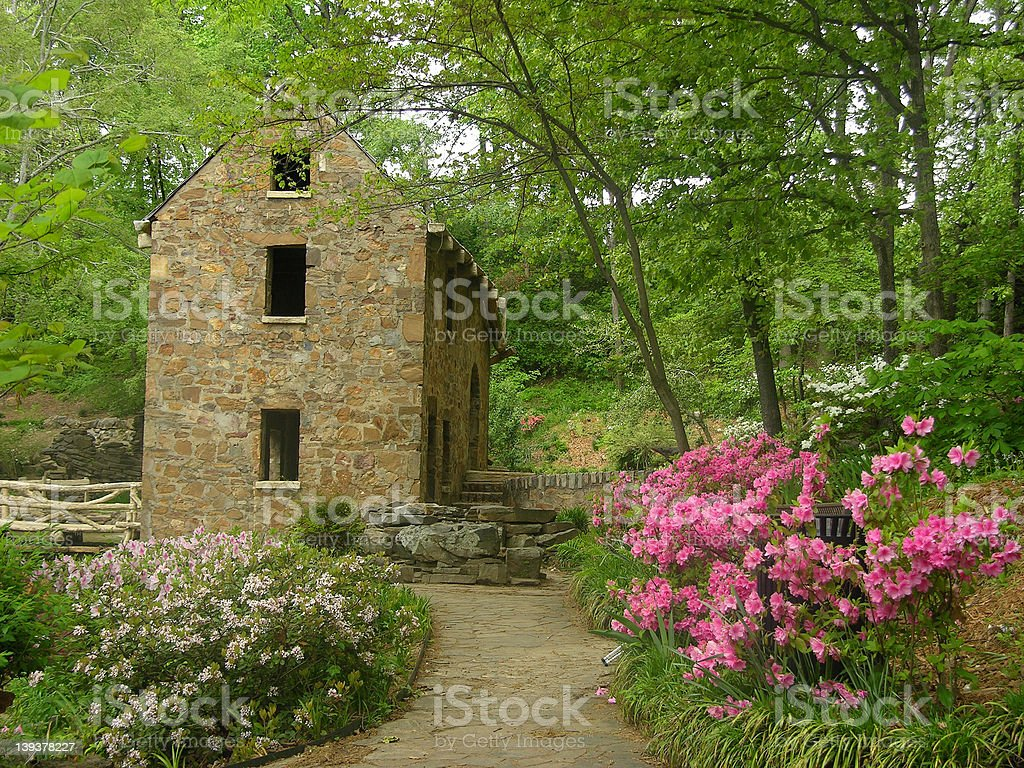 Old Mill Series - 3152 stock photo