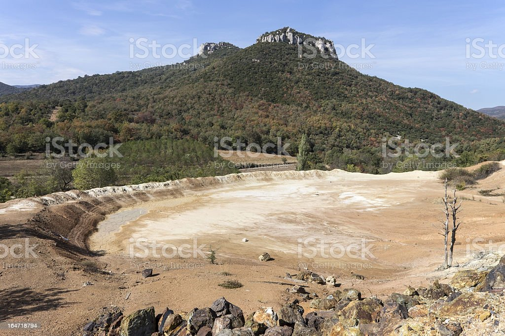 Old mines area royalty-free stock photo
