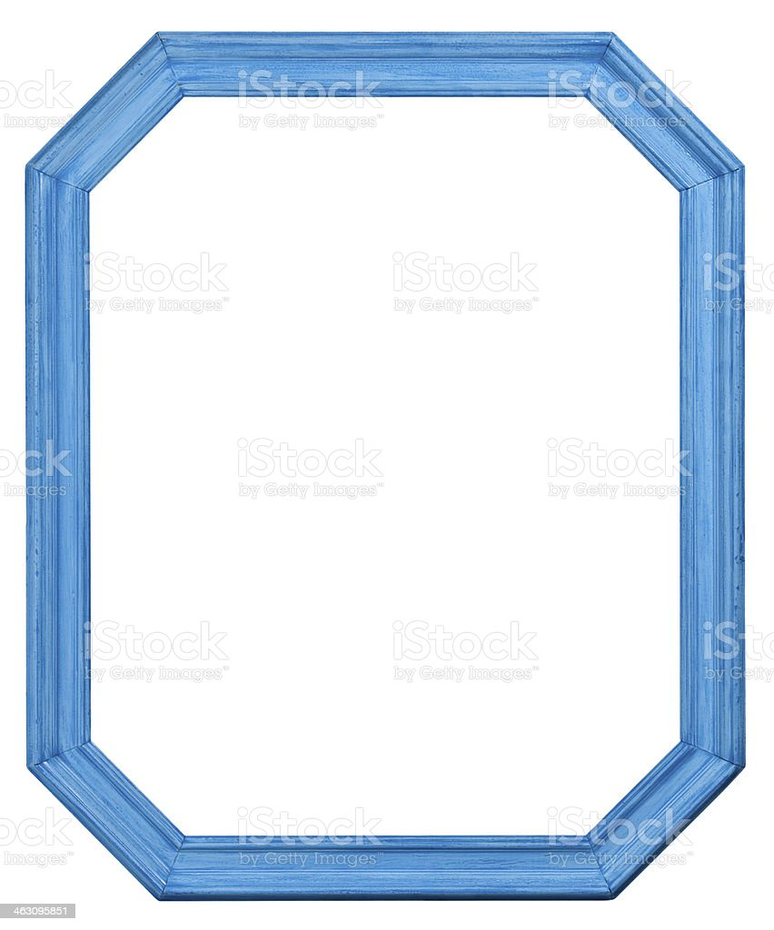 Old Mirror Frame. royalty-free stock photo