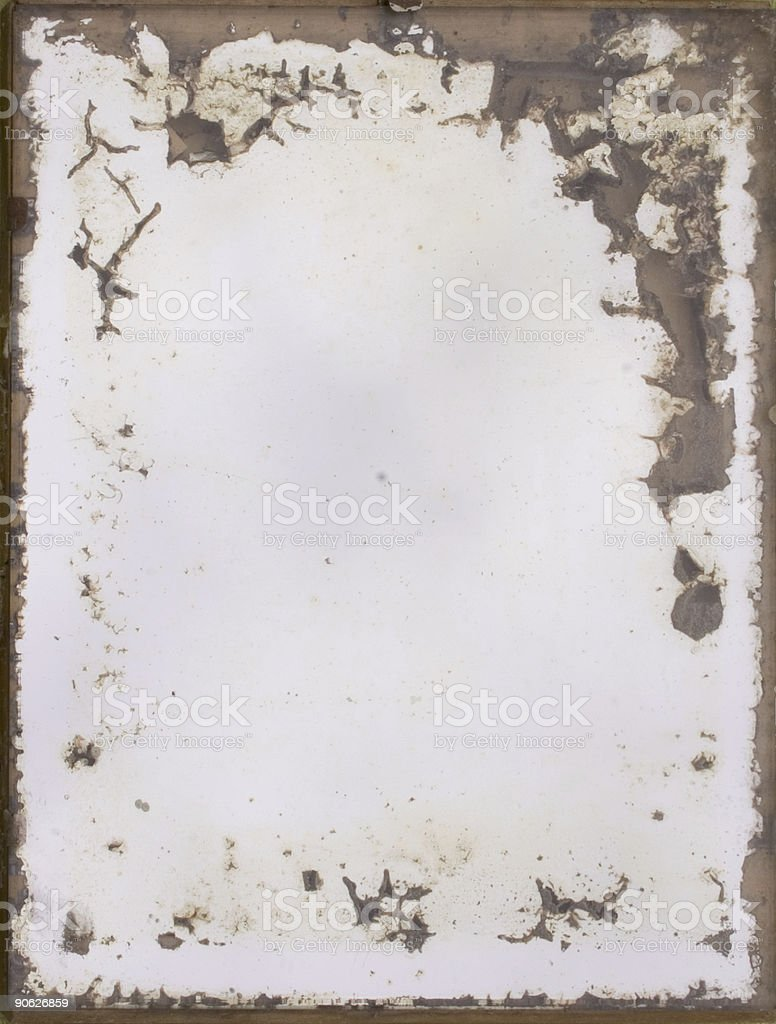 Old mirror royalty-free stock photo