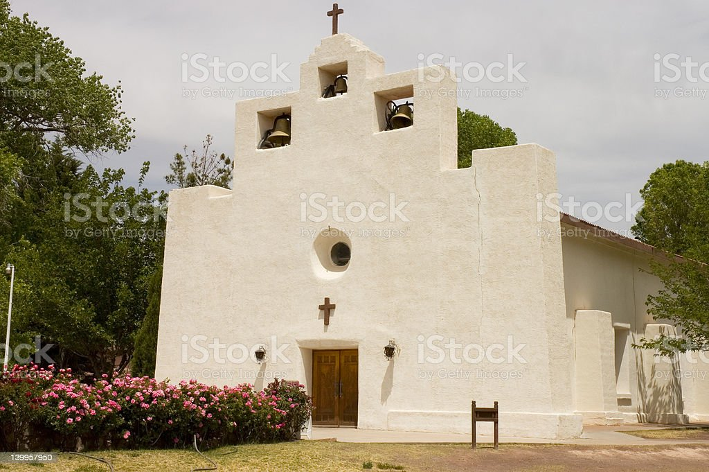 Old Mission church royalty-free stock photo