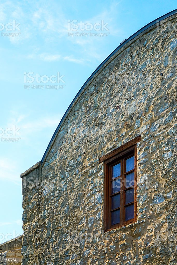 Old Mission Window stock photo