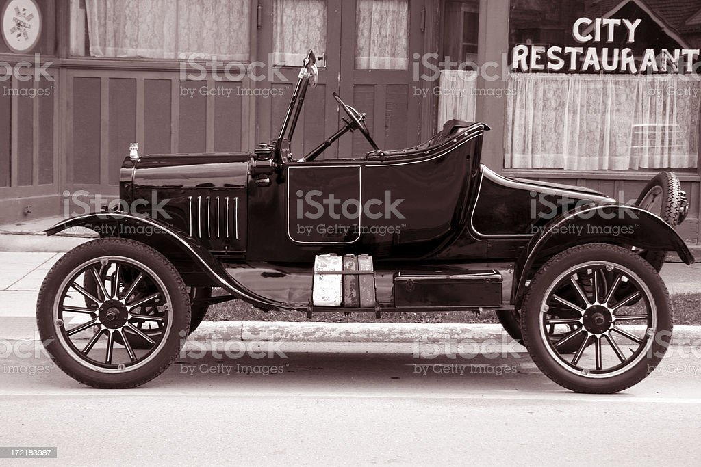 Old Model T Roadster stock photo