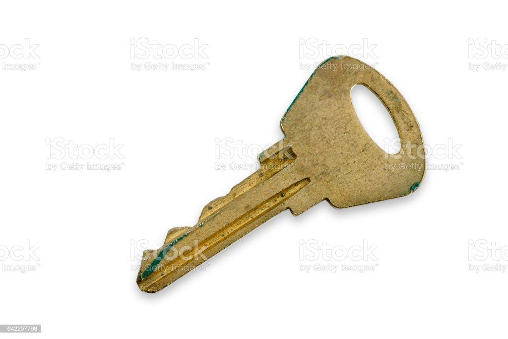 Old Moderm Key stock photo