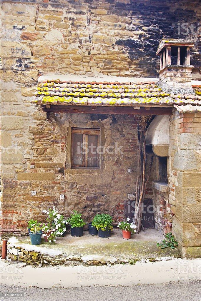 Old monastery baking house stock photo