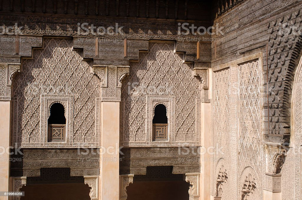 Old moroccan house stock photo