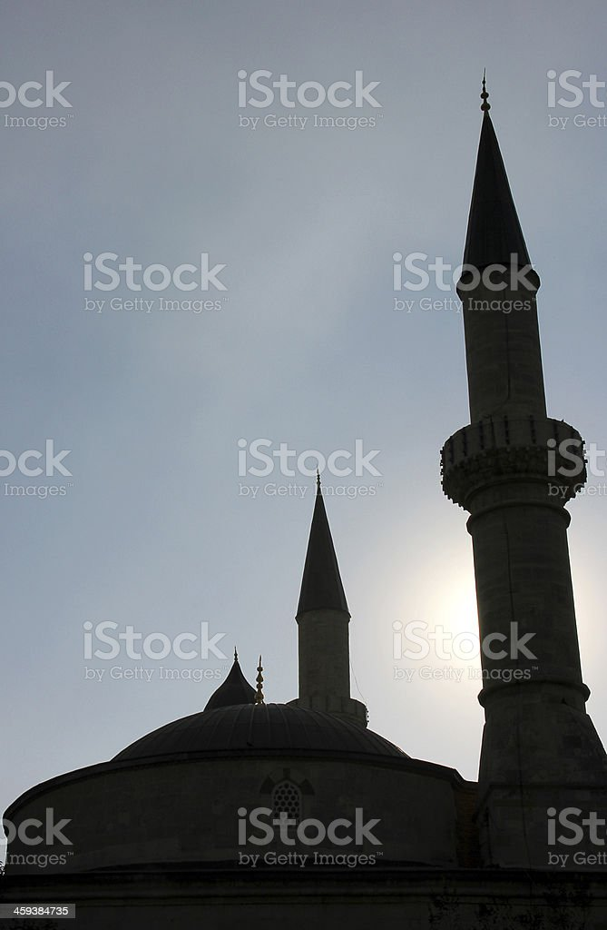 Old Mosque, Edirne stock photo