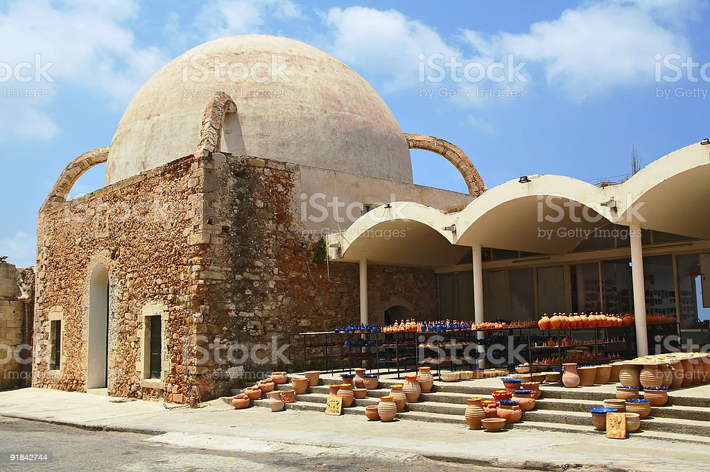 Old mosque in Chania royalty-free stock photo
