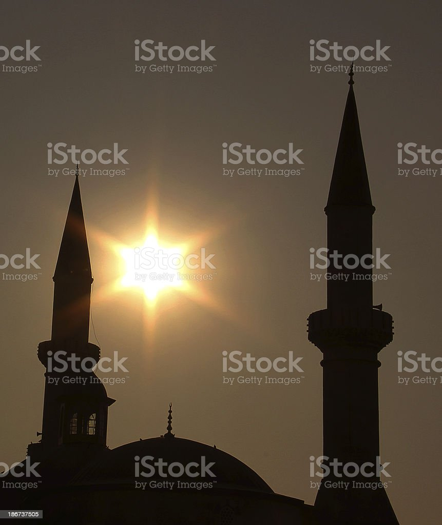 Old Mosque stock photo