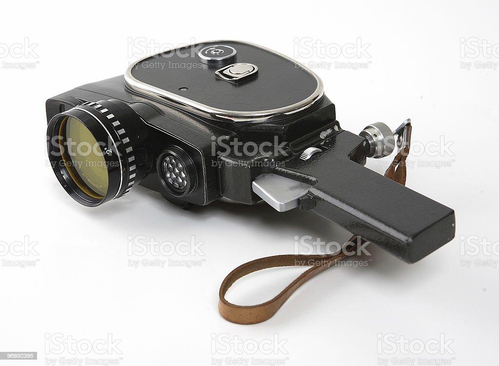 old movies camera royalty-free stock photo