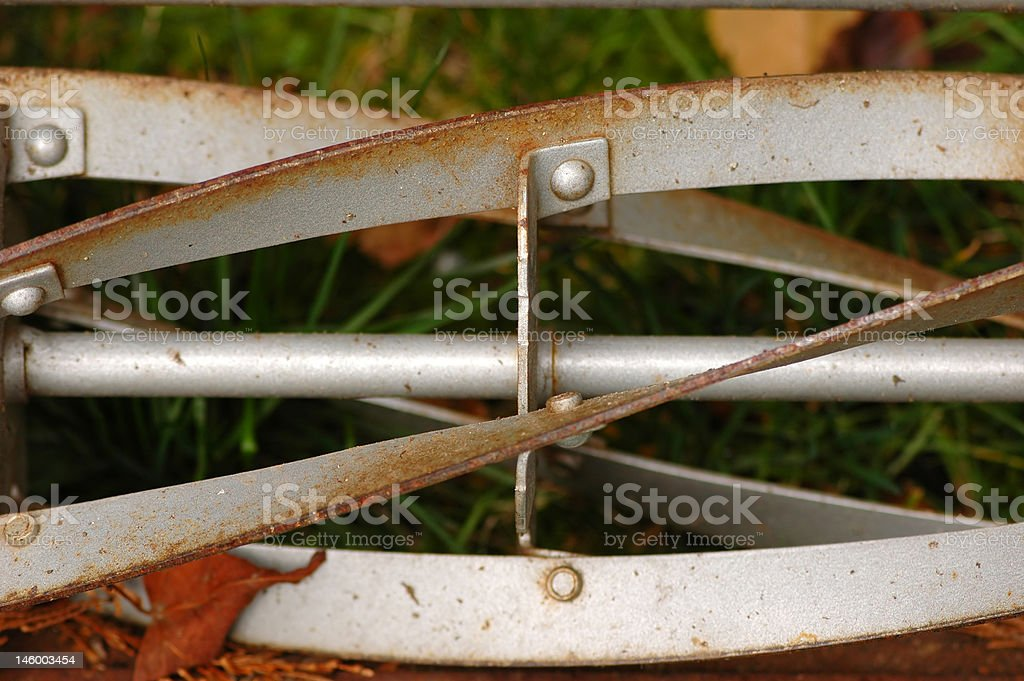 Old Mower royalty-free stock photo