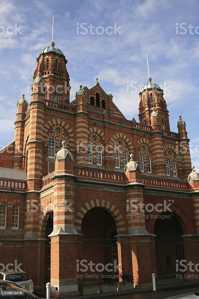 Old Museum of Queensland royalty-free stock photo
