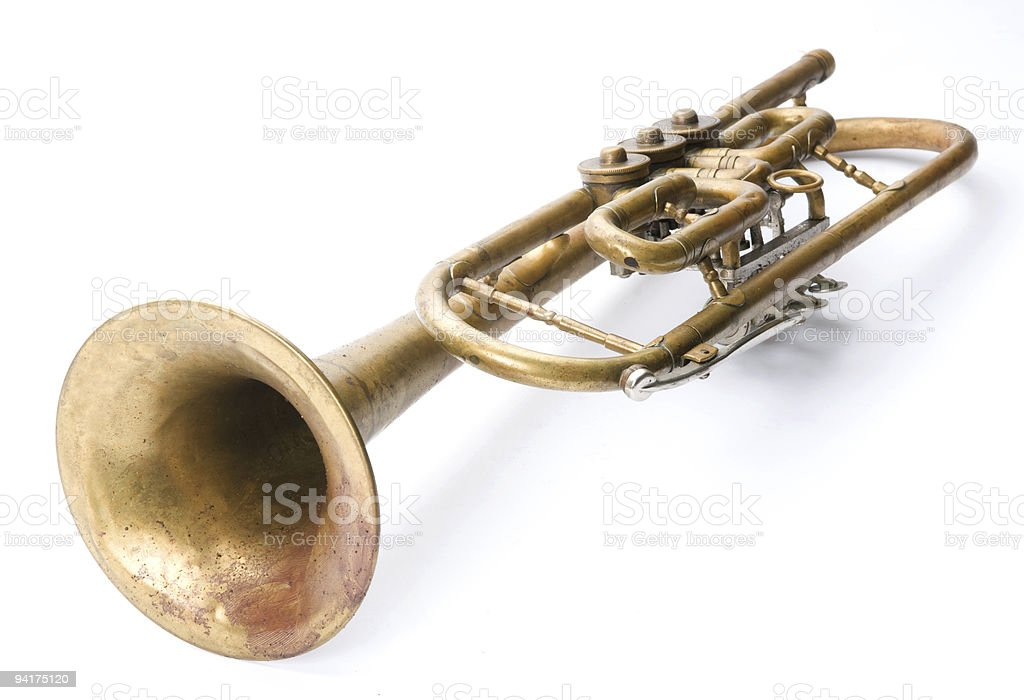 Old musical instrument royalty-free stock photo