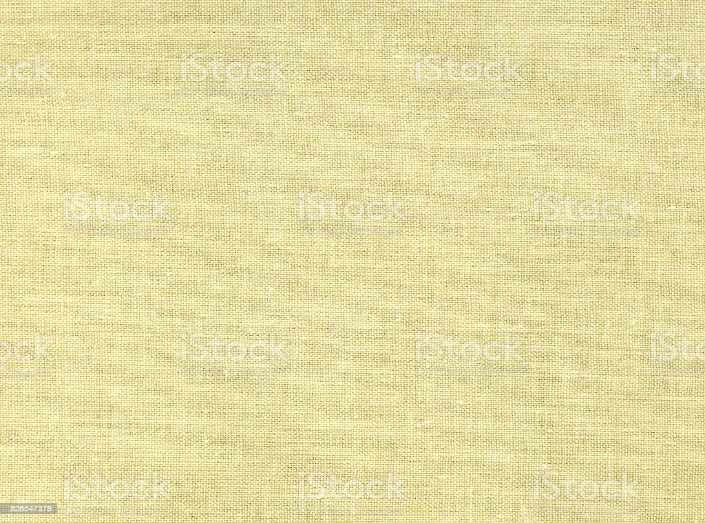 Old natural canvas texture. Book cover stock photo