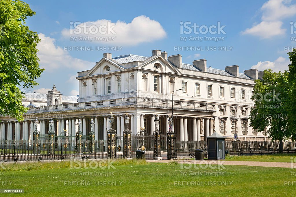 Old navy collage and offices Greenwich. London stock photo