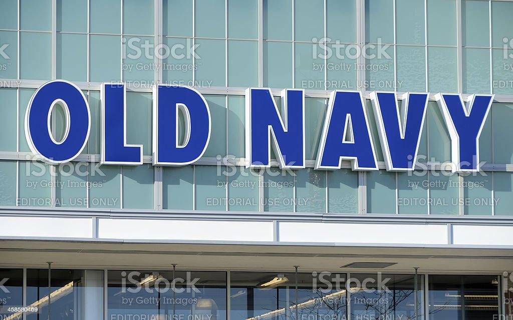 Old Navy royalty-free stock photo