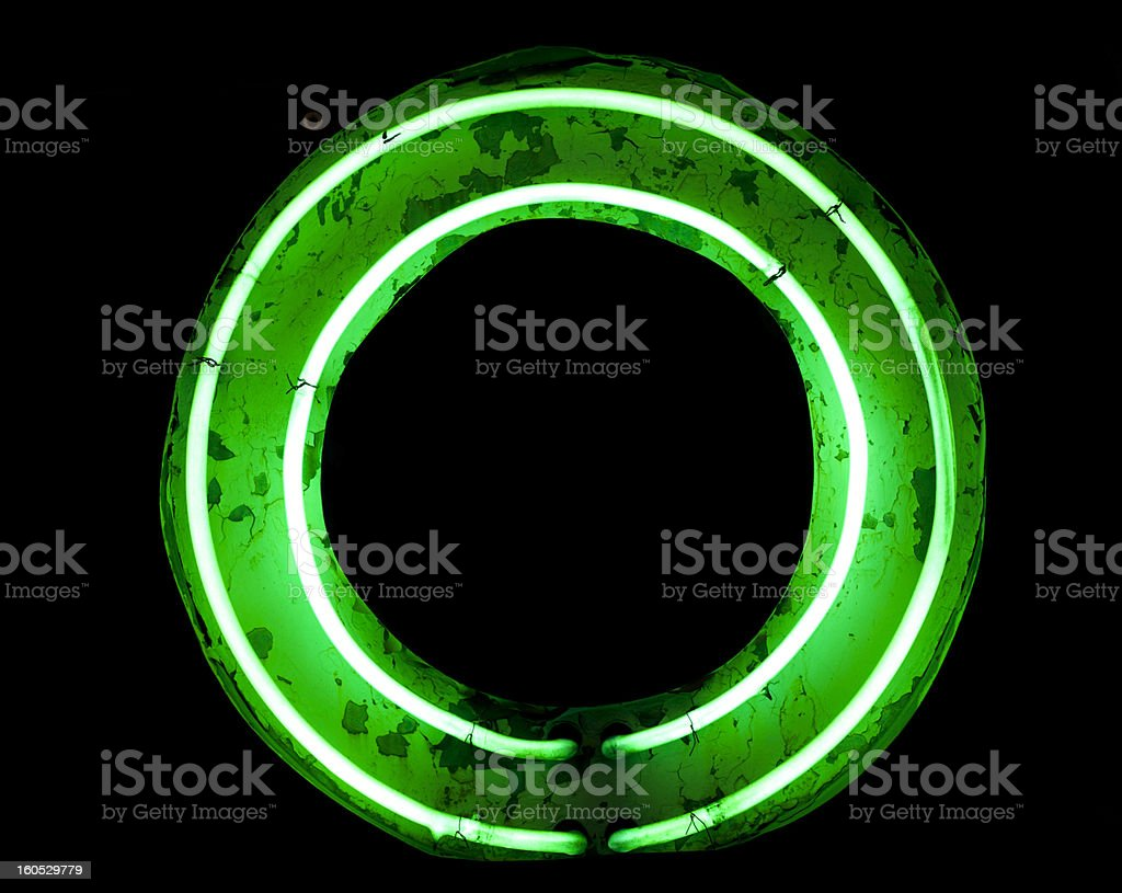 Old Neon Light royalty-free stock photo
